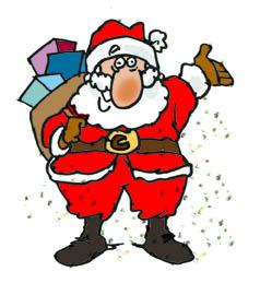 Comment Dessiner Un Père Noël Mes Cartoons